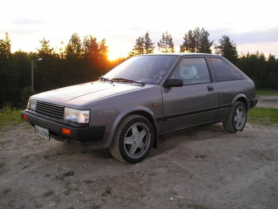 Nissan Cherry хетчбэк 3-дв., 1982–1986, N12 - отзывы, фото и характеристики на Car.ru