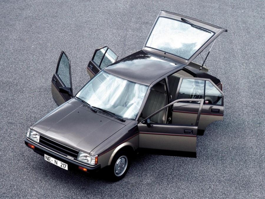 Nissan Cherry хетчбэк 5-дв., 1982–1986, N12 - отзывы, фото и характеристики на Car.ru