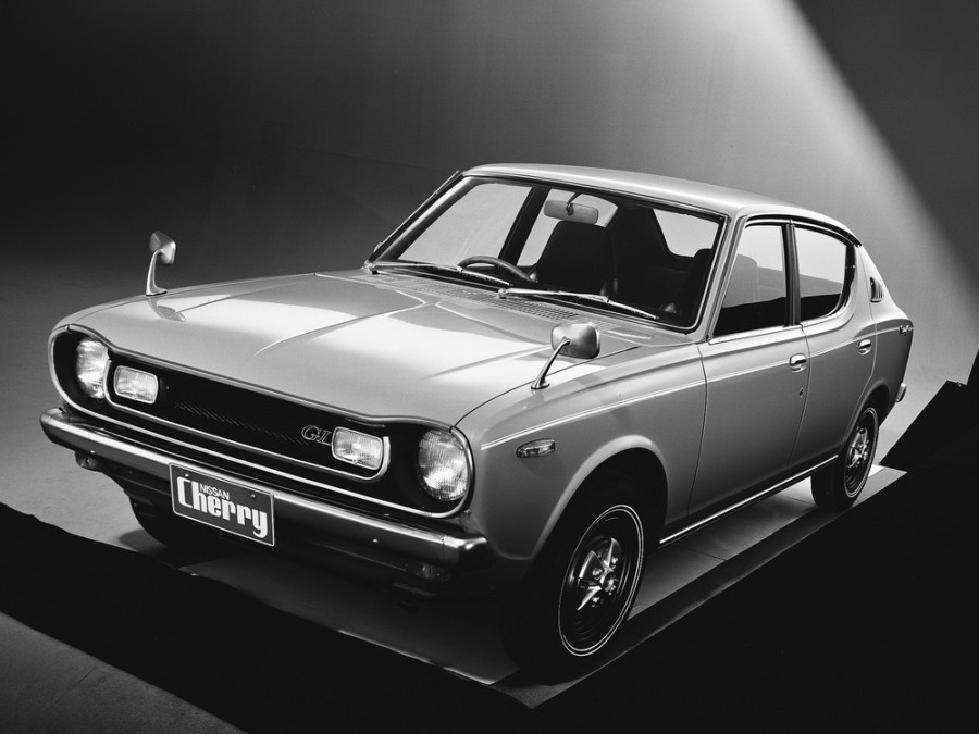 Nissan Cherry седан 4-дв., 1970–1974, E10 - отзывы, фото и характеристики на Car.ru