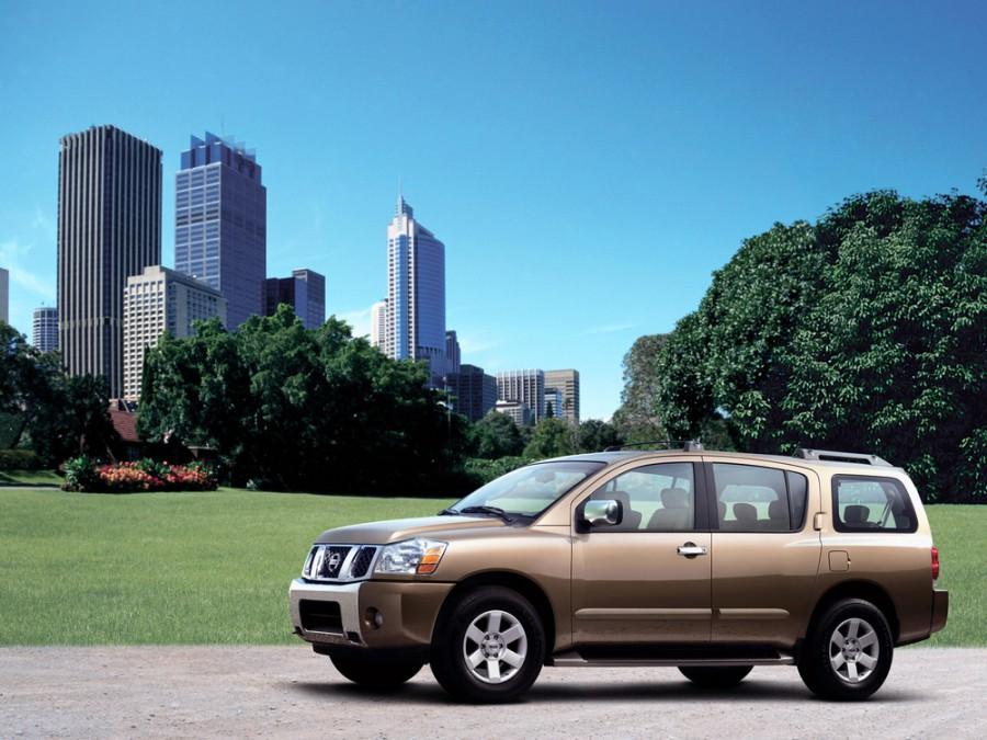 Nissan Armada внедорожник, 2003–2007, 1 поколение - отзывы, фото и характеристики на Car.ru
