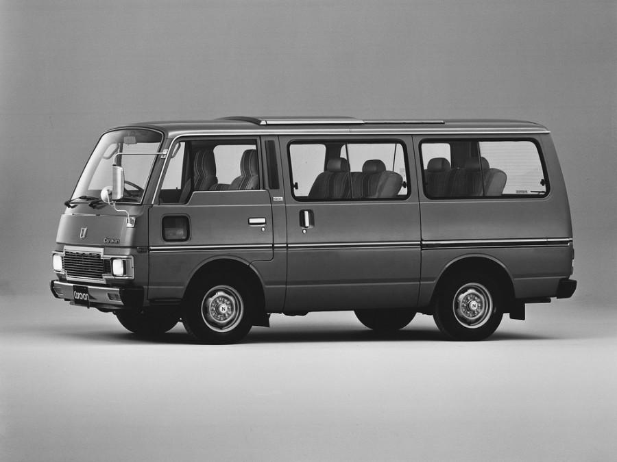 Nissan Caravan микроавтобус, 1983–1987, E23 [рестайлинг] - отзывы, фото и характеристики на Car.ru