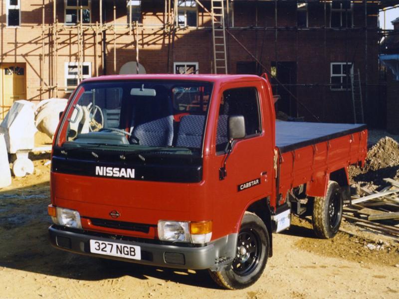 Nissan Cabstar Single Cab борт 2-дв., 1995–2010, 2 поколение - отзывы, фото и характеристики на Car.ru