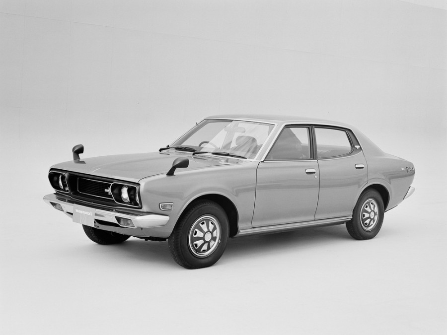 Nissan Bluebird седан, 1971–1973, 610 - отзывы, фото и характеристики на Car.ru