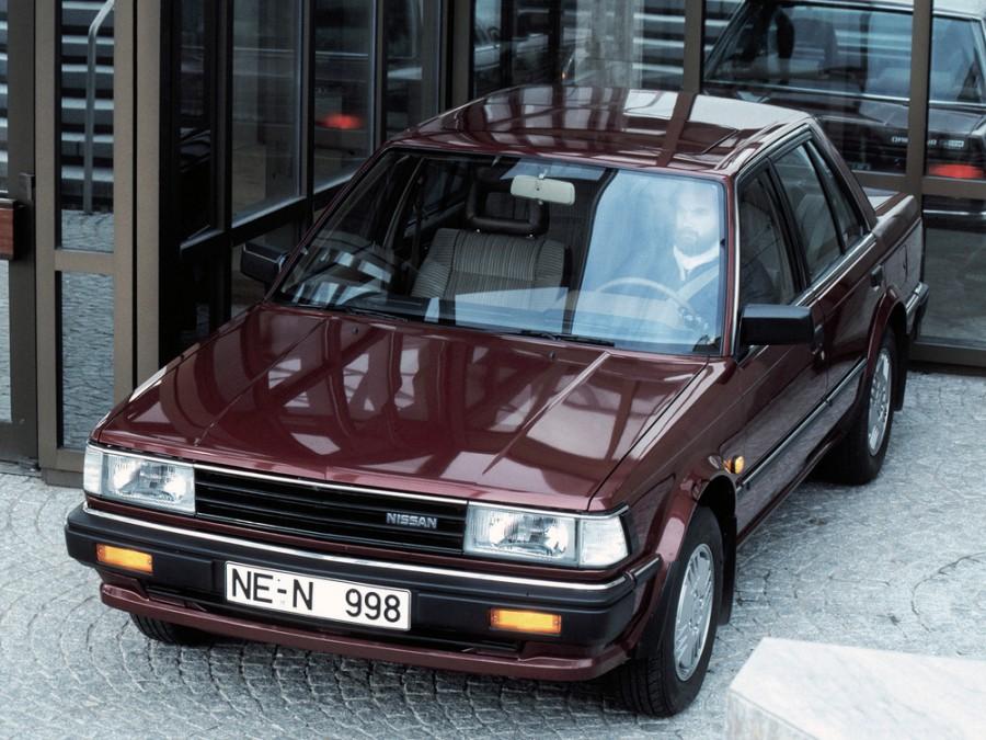 Nissan Bluebird седан, 1983–1991, U11 - отзывы, фото и характеристики на Car.ru