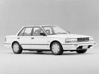 Nissan Bluebird, U11 [рестайлинг], Седан, 1985–1990