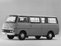 Nissan Caravan, E20, Long микроавтобус 4-дв., 1973–1980
