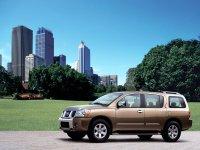 Nissan Armada, 1 поколение, Внедорожник, 2003–2007