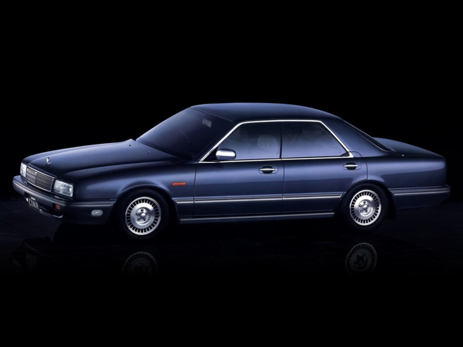 Nissan Cima седан, 1988–1991, Y31 - отзывы, фото и характеристики на Car.ru