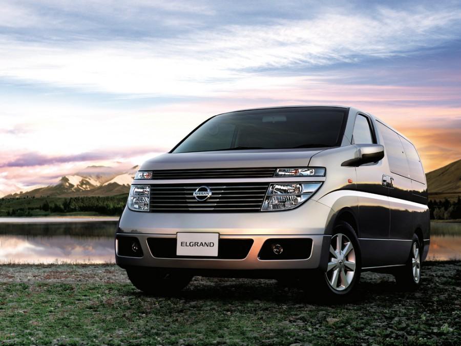 Nissan Elgrand NE51 минивэн 5-дв., 2002–2010, E51 - отзывы, фото и характеристики на Car.ru