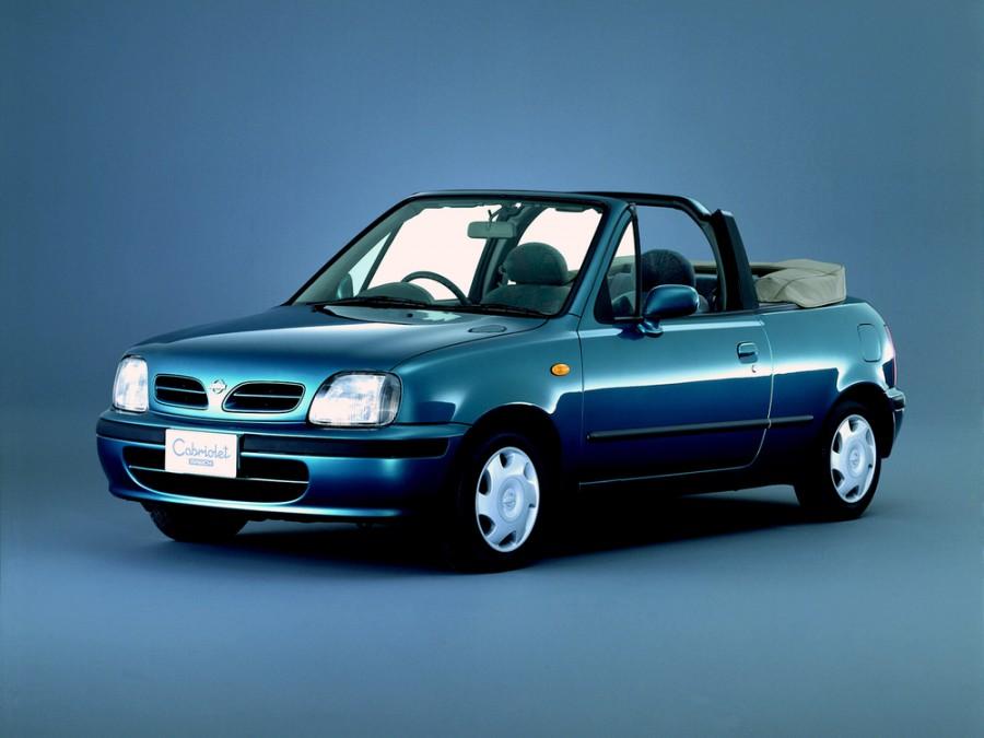 Nissan March кабриолет, 1999–2002, K11 [2-й рестайлинг] - отзывы, фото и характеристики на Car.ru