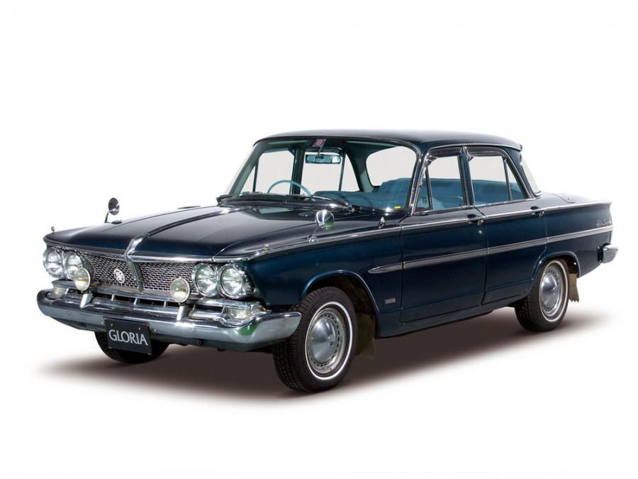 Nissan Gloria седан, 1963–1967, S40 - отзывы, фото и характеристики на Car.ru