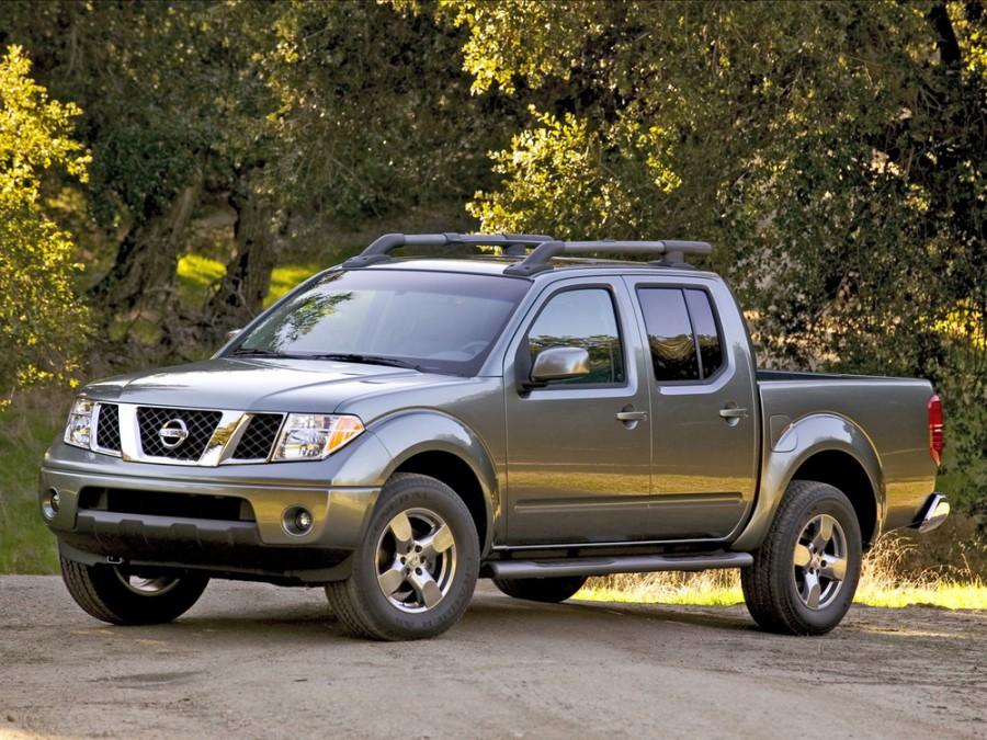 Nissan Frontier Crew Cab пикап 4-дв., 2005–2016, 2 поколение - отзывы, фото и характеристики на Car.ru