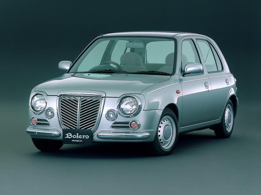 Nissan March Bolero хетчбэк 5-дв., 1997–2002, K11 [рестайлинг] - отзывы, фото и характеристики на Car.ru
