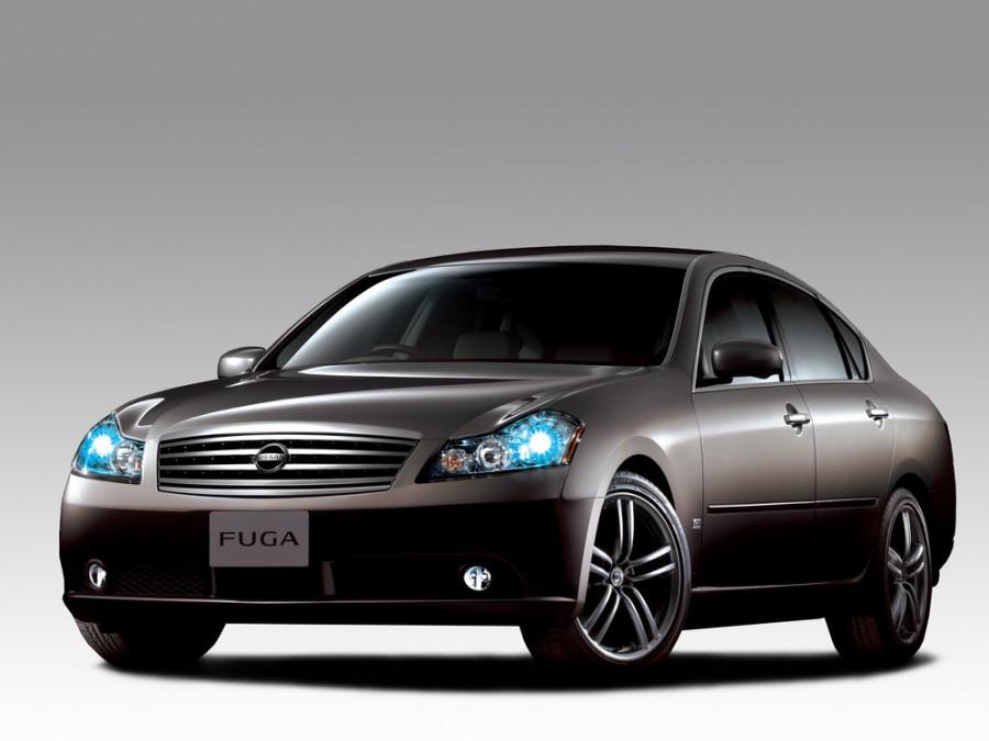 Nissan Fuga седан, 2004–2007, Y50 - отзывы, фото и характеристики на Car.ru