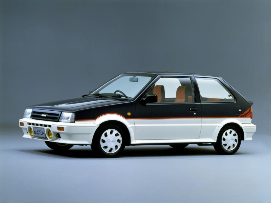 Nissan March Turbo хетчбэк 3-дв., 1985–1989, K10 [рестайлинг] - отзывы, фото и характеристики на Car.ru