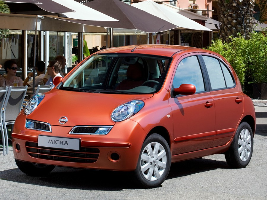 Nissan Micra хетчбэк 5-дв., 2007–2010, K12C [рестайлинг] - отзывы, фото и характеристики на Car.ru