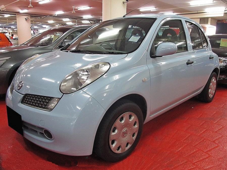 Nissan March хетчбэк 5-дв., 2005–2007, k12 [рестайлинг] - отзывы, фото и характеристики на Car.ru