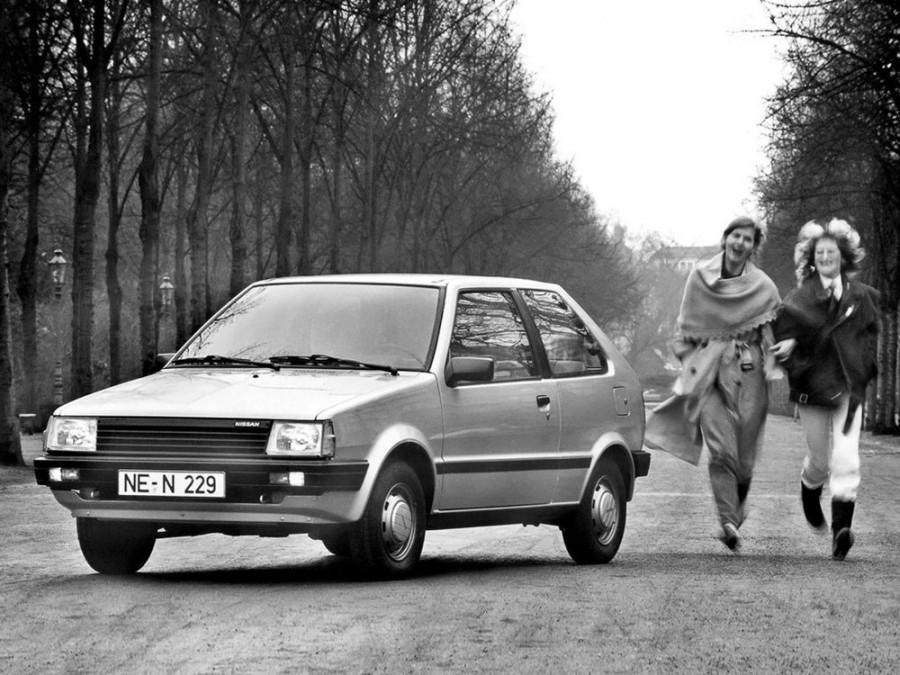 Nissan Micra хетчбэк 3-дв., 1982–1992, K10 - отзывы, фото и характеристики на Car.ru