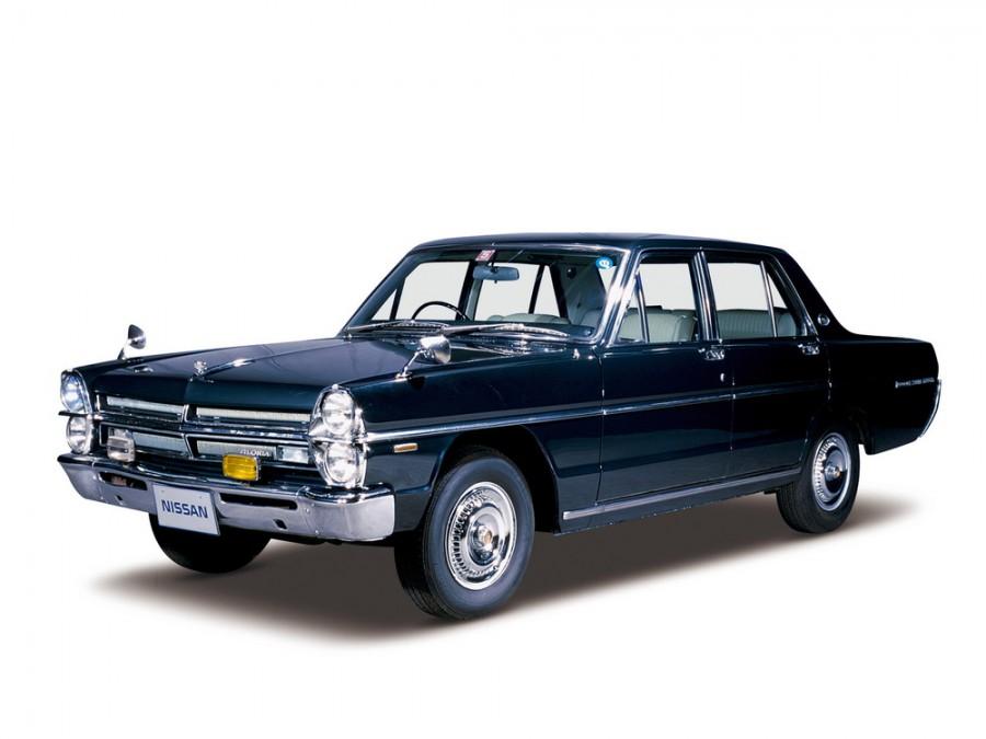 Nissan Gloria седан, 1967–1971, A30 - отзывы, фото и характеристики на Car.ru