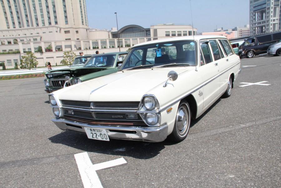 Nissan Gloria универсал, 1967–1971, A30 - отзывы, фото и характеристики на Car.ru