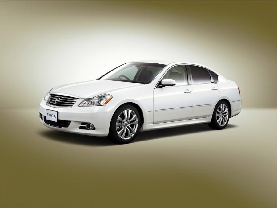 Nissan Fuga седан, 2007–2009, Y50 [рестайлинг] - отзывы, фото и характеристики на Car.ru