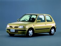 Nissan March, K11 [рестайлинг], Хетчбэк 3-дв., 1997–2002
