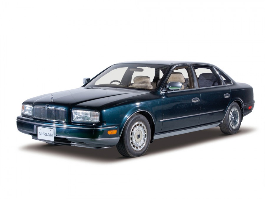 Nissan President седан 4-дв., 1990–2002, HG50 - отзывы, фото и характеристики на Car.ru
