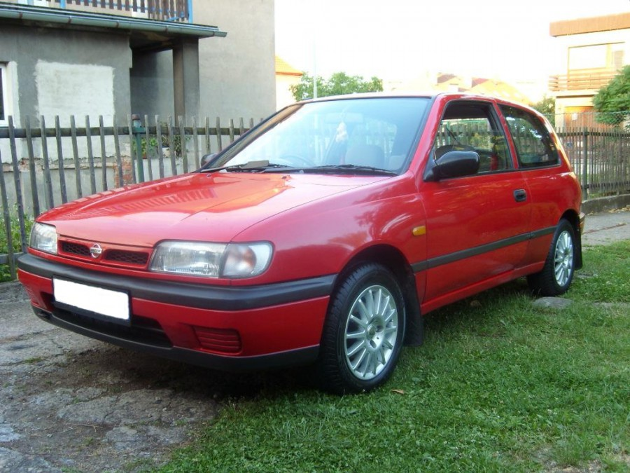 Nissan Pulsar хетчбэк 3-дв., 1990–1995, N14 - отзывы, фото и характеристики на Car.ru