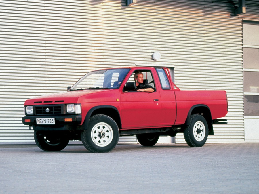 Nissan Pick UP King Cab пикап 2-дв., 1985–1992, D21 - отзывы, фото и характеристики на Car.ru