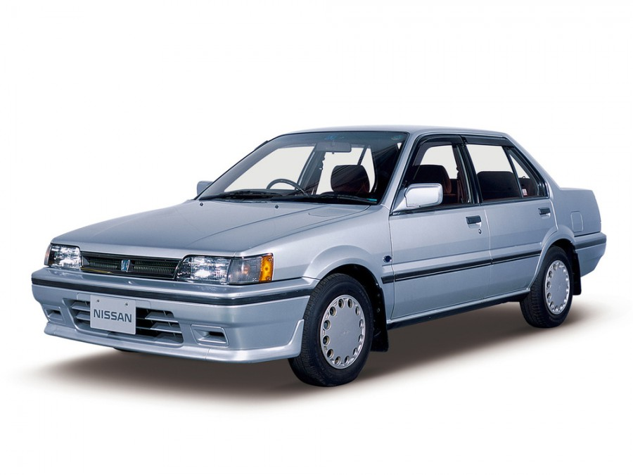 Nissan Pulsar седан, 1986–1990, N13 - отзывы, фото и характеристики на Car.ru