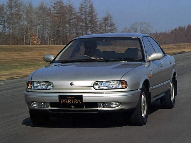 Nissan Presea седан, 1990–1994, 1 поколение - отзывы, фото и характеристики на Car.ru