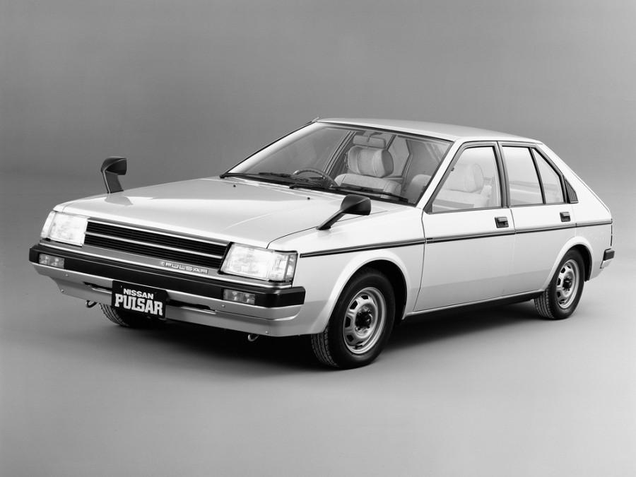 Nissan Pulsar хетчбэк 5-дв., 1982–1986, N12 - отзывы, фото и характеристики на Car.ru
