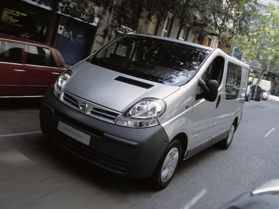 Nissan Primastar микроавтобус, 2002–2006, 1 поколение - отзывы, фото и характеристики на Car.ru