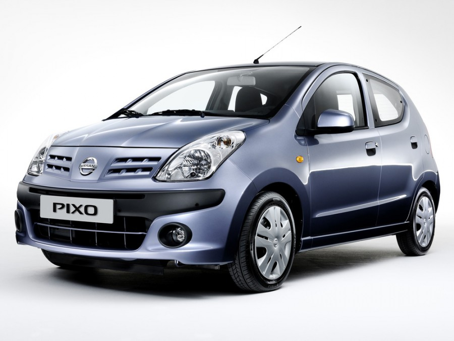 Nissan Pixo хетчбэк, 2008–2016, 1 поколение - отзывы, фото и характеристики на Car.ru