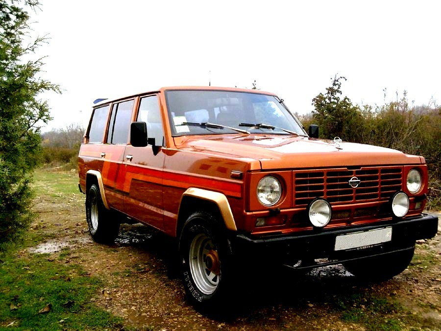 Nissan Patrol внедорожник 5-дв., 1980–1985, 160/260 - отзывы, фото и характеристики на Car.ru