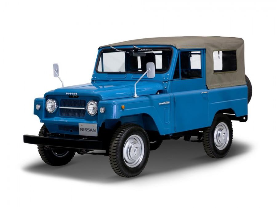 Nissan Patrol 60 Soft Top внедорожник 2-дв., 1960–1980, 60 - отзывы, фото и характеристики на Car.ru