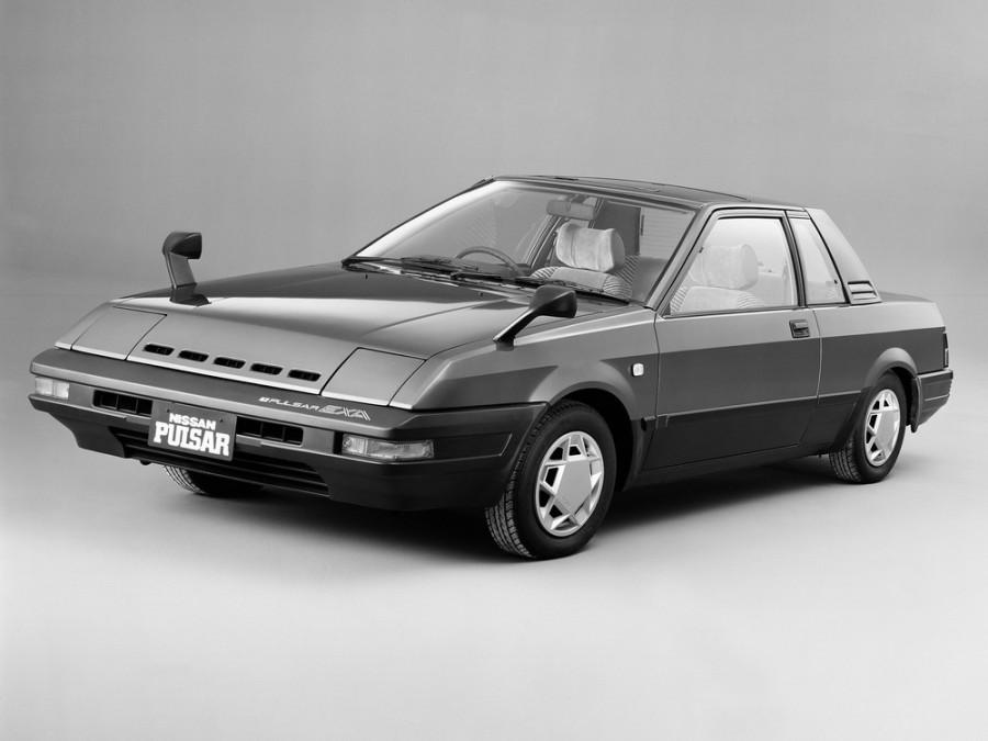 Nissan Pulsar EXA купе, 1982–1986, N12 - отзывы, фото и характеристики на Car.ru