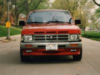 Nissan Pick UP, D21, Crew cab пикап 4-дв., 1985–1992