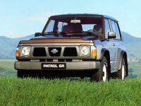 Nissan Patrol, Y60, Внедорожник 3-дв., 1987–1998