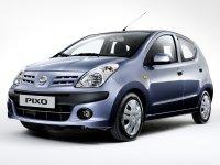 Nissan Pixo, 1 поколение, Хетчбэк, 2008–2016