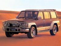 Nissan Patrol, Y60, Внедорожник 5-дв., 1987–1998