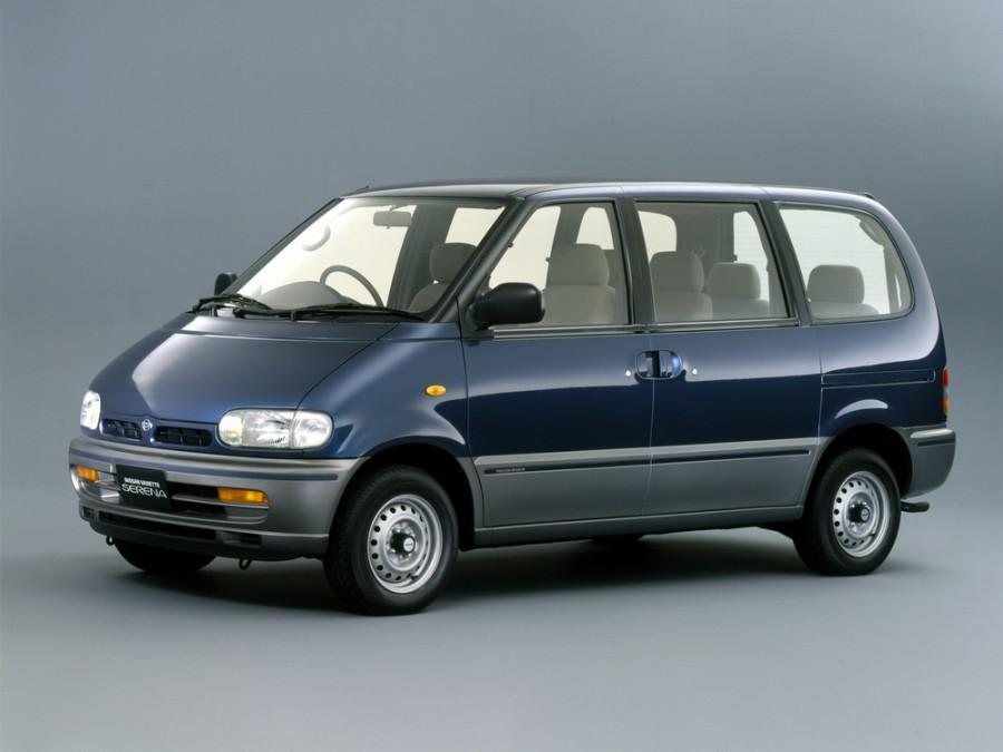 Nissan Serena минивэн, 1992–1994, C23 - отзывы, фото и характеристики на Car.ru