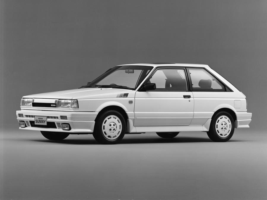 Nissan Sunny хетчбэк, 1986–1991, B12 - отзывы, фото и характеристики на Car.ru
