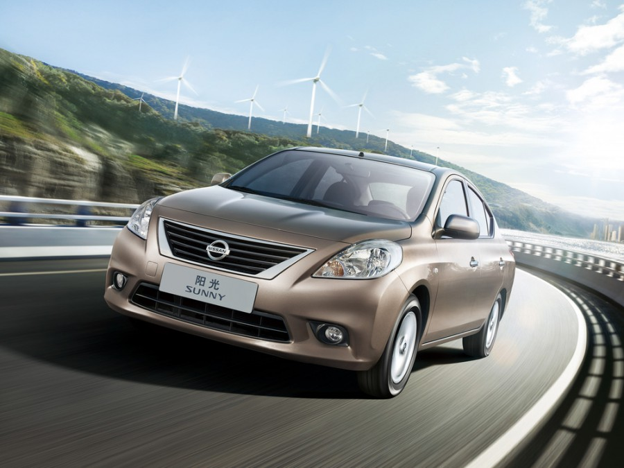 Nissan Sunny седан, 2011–2016, B17 - отзывы, фото и характеристики на Car.ru