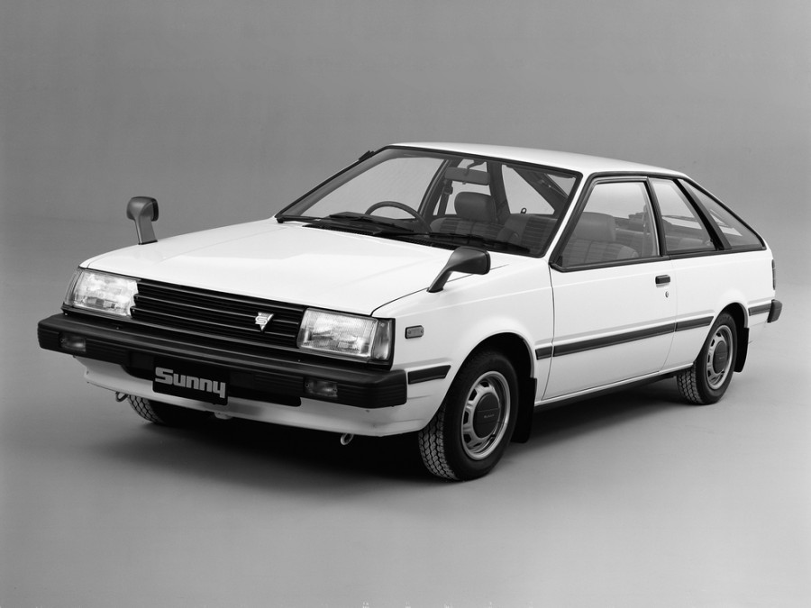 Nissan Sunny купе, 1981–1985, B11 - отзывы, фото и характеристики на Car.ru