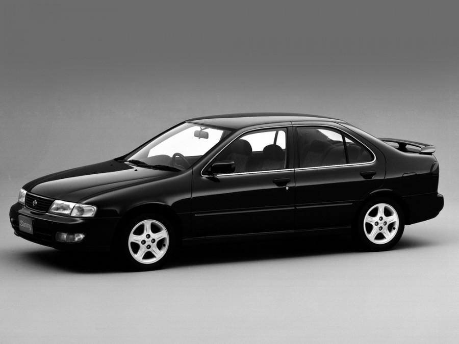 Nissan Sunny седан, 1993–1998, B14 - отзывы, фото и характеристики на Car.ru