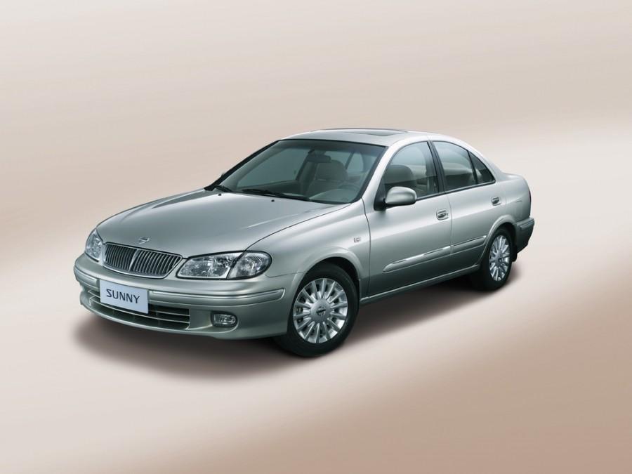 Nissan Sunny седан, 2000–2003, N16 - отзывы, фото и характеристики на Car.ru