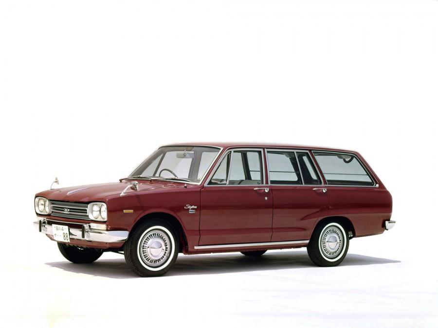 Nissan Skyline универсал, 1968–1972, C10 - отзывы, фото и характеристики на Car.ru