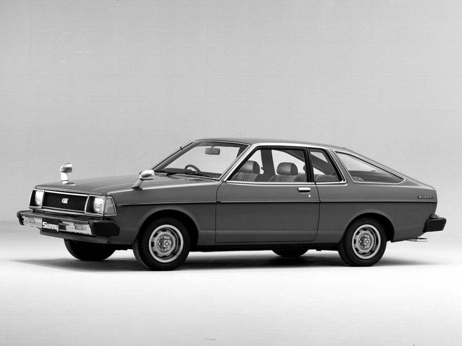 Nissan Sunny хетчбэк, 1979–1981, B310 - отзывы, фото и характеристики на Car.ru