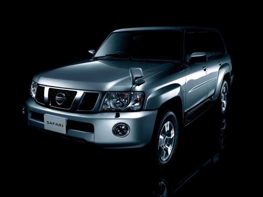 Nissan Safari внедорожник, 2004–2007, Y61 [рестайлинг] - отзывы, фото и характеристики на Car.ru